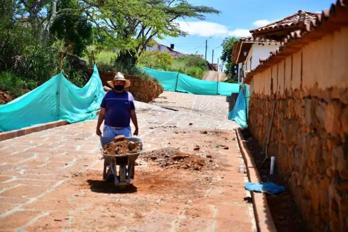 Así van las obras de infraestructura vial en la provincias Comunera y Guanentá