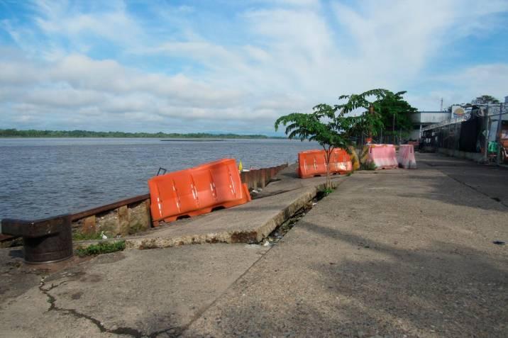 Muelle en Barrancabermeja lleva tres años en alto riesgo