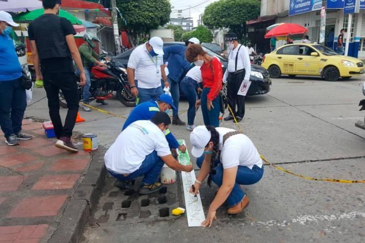 Inician campaña en pro del alcantarillado, en Barrancabermeja